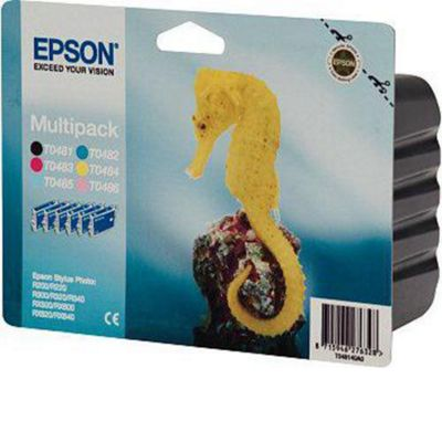 Epson Multipack 6-Colour T0487 Ink Cartridge