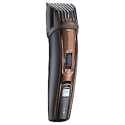 Remington MB4045 Mens Electric Stubble and Beard Trimmer Kit - Copper / Black