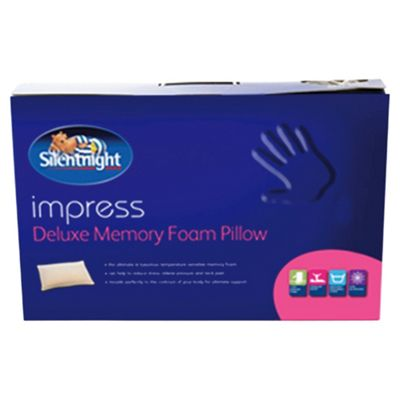 Silentnight Impress Memory Foam Pillow