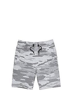 F&F Camo Jersey Shorts - Multi
