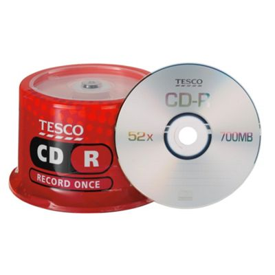 Tesco CD-R spindle - pack of 50