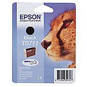 Epson Cheetah T0711 Black DURA Ink