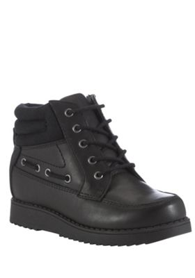 buy f f wide fit leather boat school boots from our