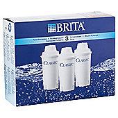 BRITA Classic 3 Pack Water Filter Cartridges
