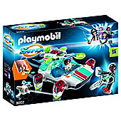 Playmobil 9002 FulguriX with Agent Gene