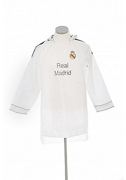 Real Madrid Official Rain Mac - White