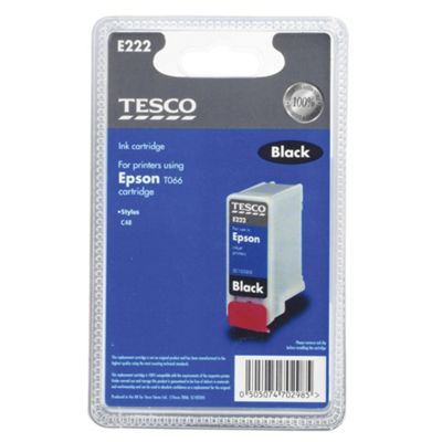 Tesco E222 Printer Ink Cartridge - Black
