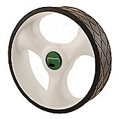 Caddymatic And Stowamatic Electric Golf Trolley Rear Wheel - Left - White