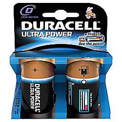 Duracell 2 Pack D Batteries