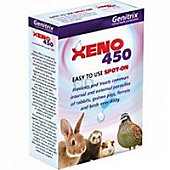 Xeno 450 spot on tube.