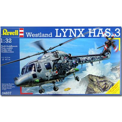 Revell Westland Lynx Has.3 Helicopter 1:32 Aircraft Model Kit - 04837