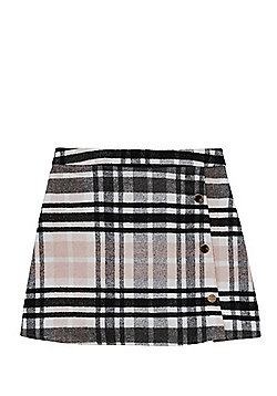 F&F Checked A-Line Skirt - Multi