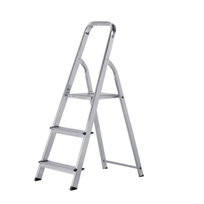 Abru 3 Tread Domestic Stepladder, 12003
