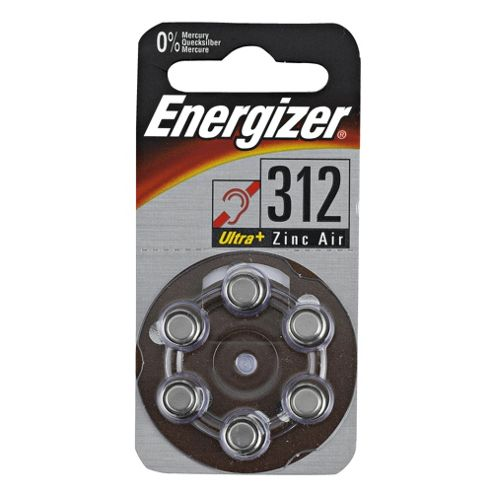 Energizer hearing aid Size 312 Battery