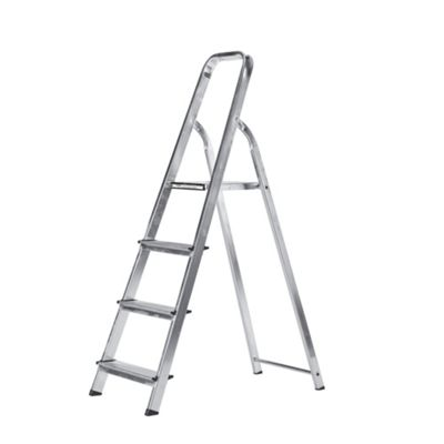 Abru 4-Tread DIY Aluminium Stepladder, 12004