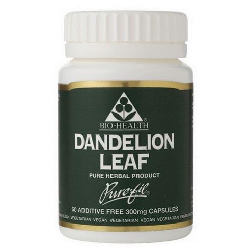 Bio Health Dandelion Leaf 60 Veg Capsules