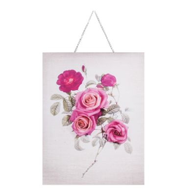 Art for Home Botanical Bloom Bouquet Canvas