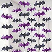 Bat String Halloween Decoration - 2m