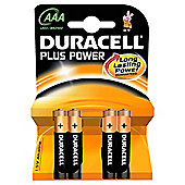 Duracell Plus 4 Pack AAA Batteries