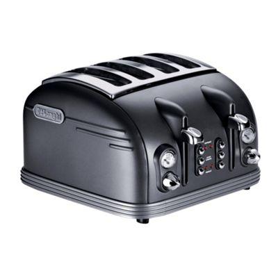De'Longhi CTM4023 Metropolis 4 Slice Toaster