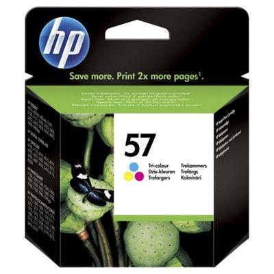 HP 57 Tri-colour Original Ink Cartridge