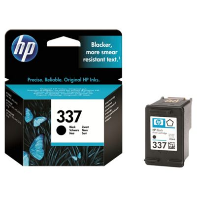 HP 337 Ink Cartridge Black- Duplicate