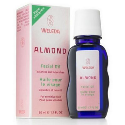 Almond Soothing Facial Oil (50ml Oil)