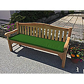 Four Seater Bench Cushion Forest Green