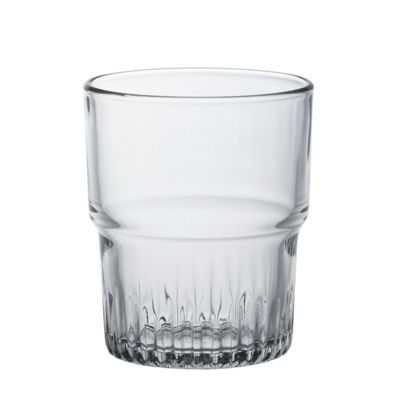 Duralex Empilable Stacking Water / Juice Tumbler Glasses - 200ml - x6