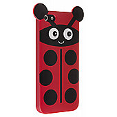 My Doodles iPhone 5/5S Character TPU Case Ladybird (Red)