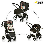 Hauck Lacrosse Shop N Drive Travel System, Stone