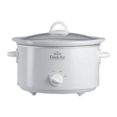 Crock-Pot 3.5L White Slow Cooker