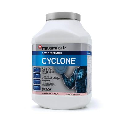 Maximuscle Cyclone 1.2Kg Strawberry