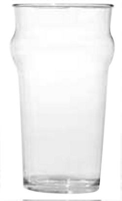 Epicurean Single Acrylic Nonic Beer Tumbler, 473ml
