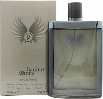 Police Titanium Wings Eau de Toilette (EDT) 100ml Spray For Men