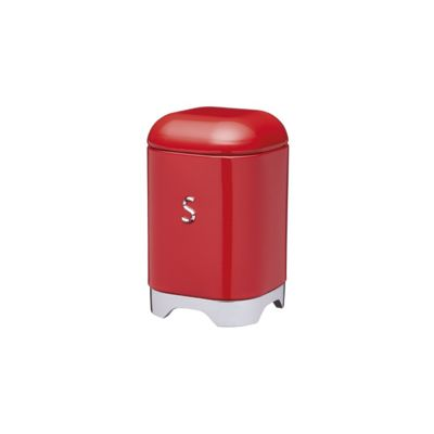KitchenCraft Lovello Sugar Storage Tin in Red LOVSUGARRED