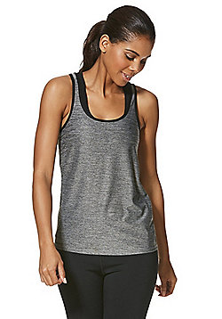 F&F Active Space Dye Vest - Grey