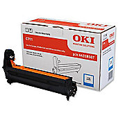 OKI 44318507 Image Drum for C711 A4 Colour Printers (Yield 20,000 Pages) - Cyan