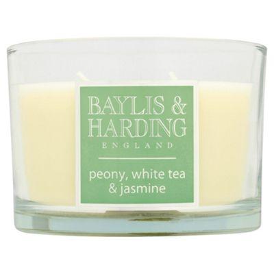 Baylis & Harding Multi-Wick Candle Peony, White Tea & Jasmine