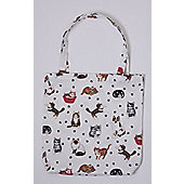 Roy Kirkham PVC Coated Cotton Shopping Bag, Cats