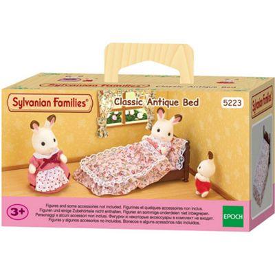 SYLVANIAN Families Classic Antique Bed Dolls Furniture 5223