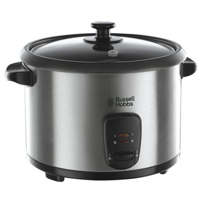 Russell Hobbs 19750 Rice Cooker & Steamer, 1.8L - Silver