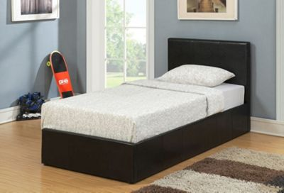 Birlea Berlin Ottoman Bed Frame - Black - Small Double (4')
