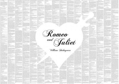 Spineless Classics Romeo and Juliet Wall Art