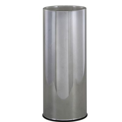 Smoked Medium Grey Cylinder LED Decoration