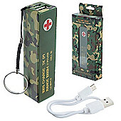 Camouflage Portable USB Charger 2000mAh