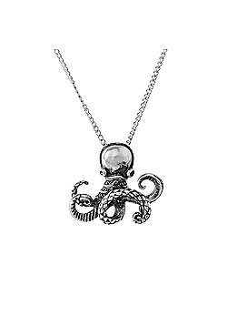 Urban Male Two Colour Stainless Steel Octopus Pendant for Men