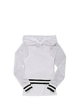 F&F Mesh Hoodie and Vest Set - Multi