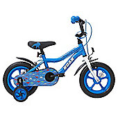 Terrain Dinosaurs 12 inch Wheel Blue Kids Bike
