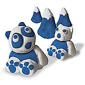Kinetic Sand Build 2 Colour Pack - Blue and White